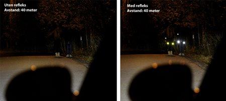 ed896fee Høstmørket kan være livsfarlig – bruk refleks!