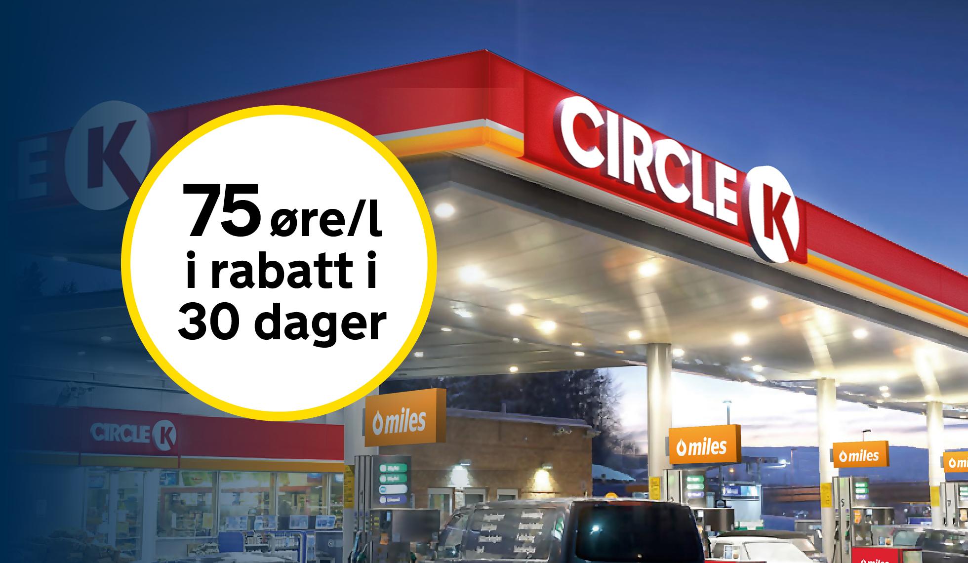 circle k rabatt
