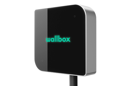 Wallbox hjemmelader sort