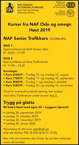 0e263bed2 NAF Lokal avd. Oslo og omegn, avdelingen med gode medlemtilbud. | NAF