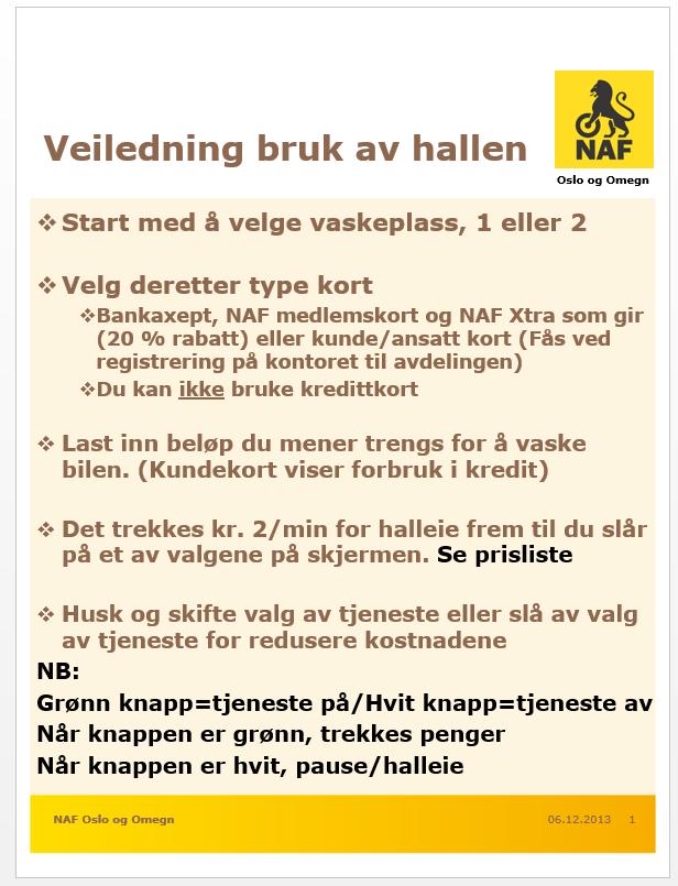 NAF Senter Oslo - Profesjonelle tjenester - Haslevangen D. - Yelp