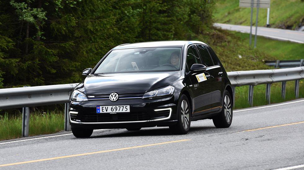 Rekkeviddetest Volkswagen E Golf Naf