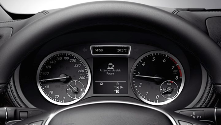Mercedes benz attention assist naf for Mercedes benz attention assist