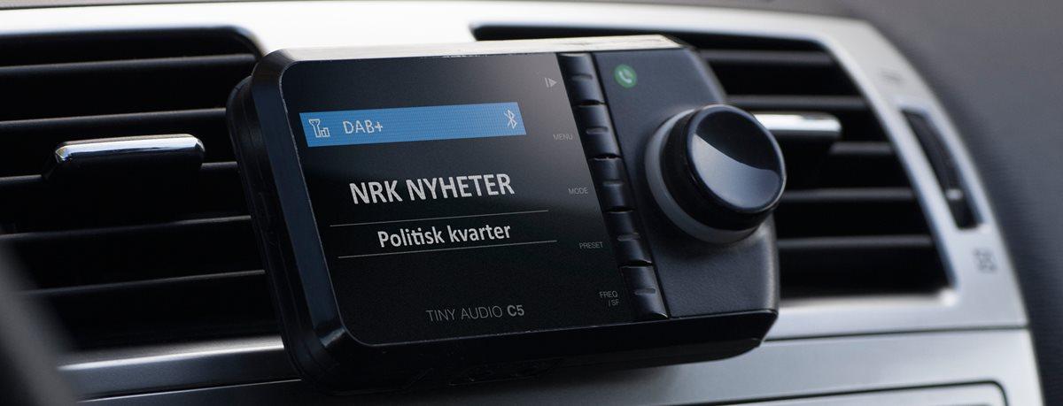 Ungdommelig Montering av DAB radio i bil | NAF AJ-56